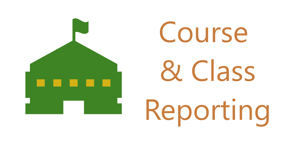 Course and Class Reports Button