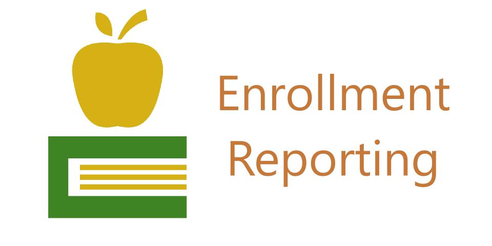 Enrollment Reports Button