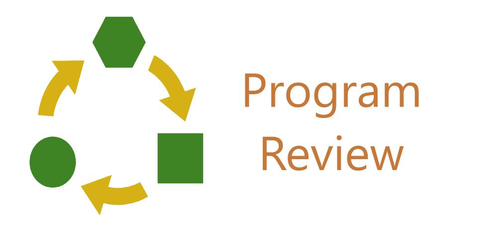 Program Review Button